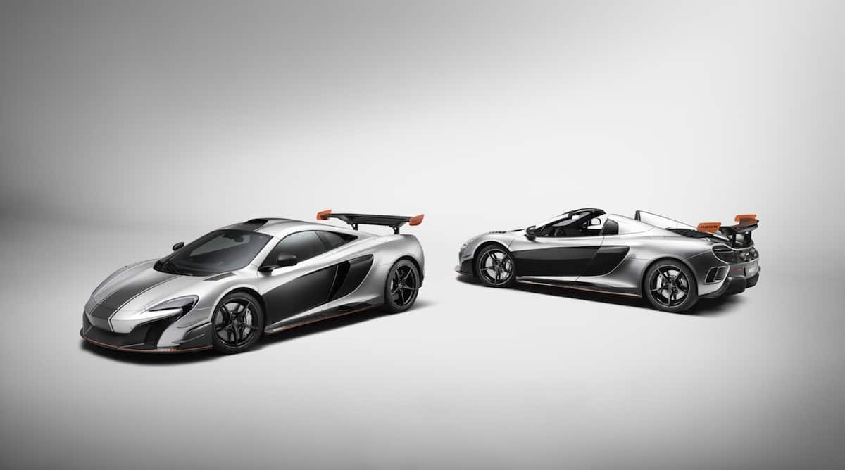 McLaren MSO R Coupé and MSO R Spider
