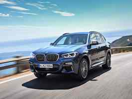 all-new 2018 bmw x3 m40i m performance front rolling