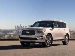 2018 infiniti qx80 front view