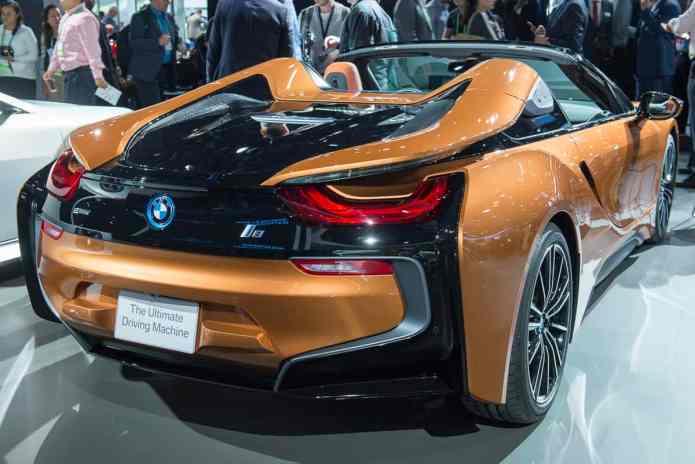 2019 BMW i8 roadster la auto show