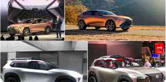 Lexus LF-1 Limitless concept detroit auto show 2018