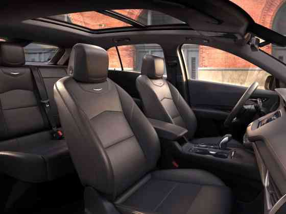 2019 Cadillac XT4 rear seats