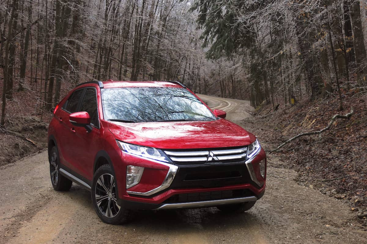 2018 mitsubishi eclipse cross review front profile