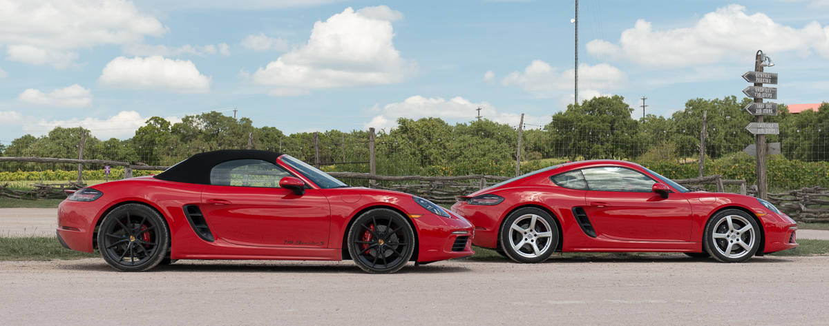 Porsche 718 Boxster & 718 Cayman amee reehal