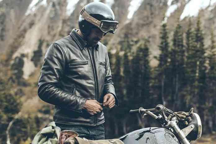 moto jacket taylor stitch black