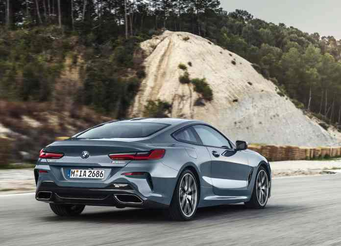 2019 BMW 8 Series Coupe rear