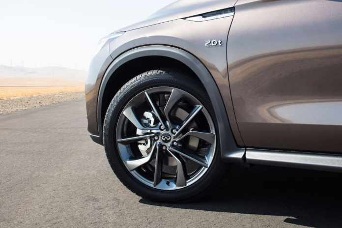 2019 INFINITI QX50 review wheel