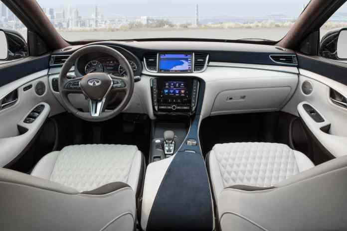 2019 INFINITI QX50 review interior