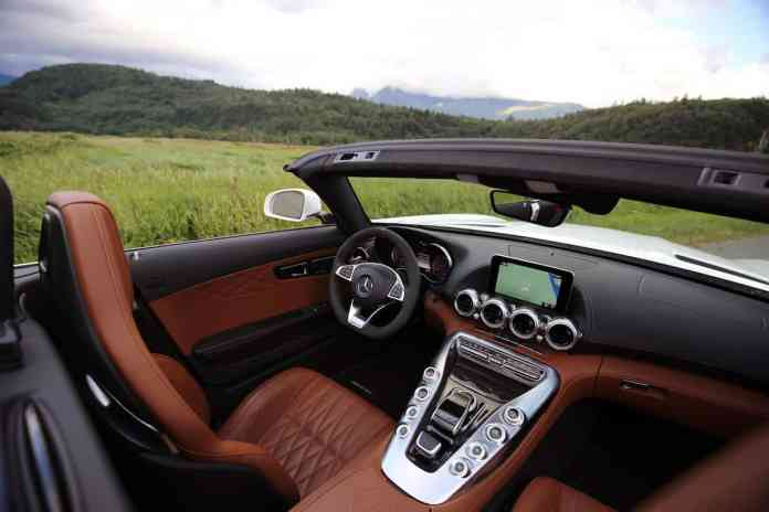 2018 mercedes-amg gt c review interior