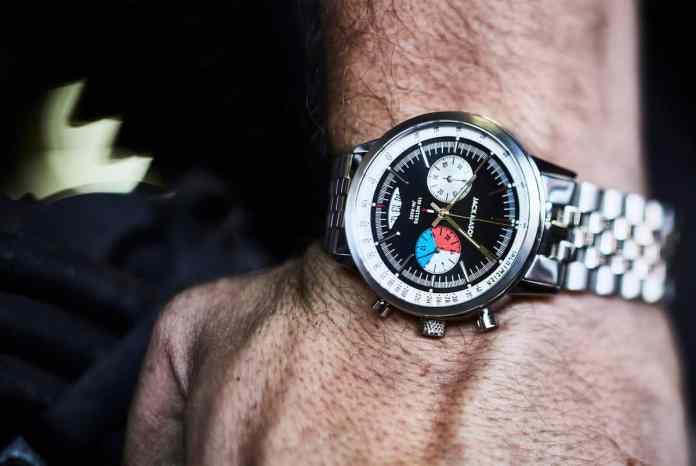 Jack Mason Racing Chronograph 40mm inspired by mid century race cars