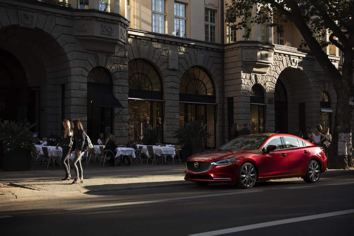 Mazda 6 2018 review red