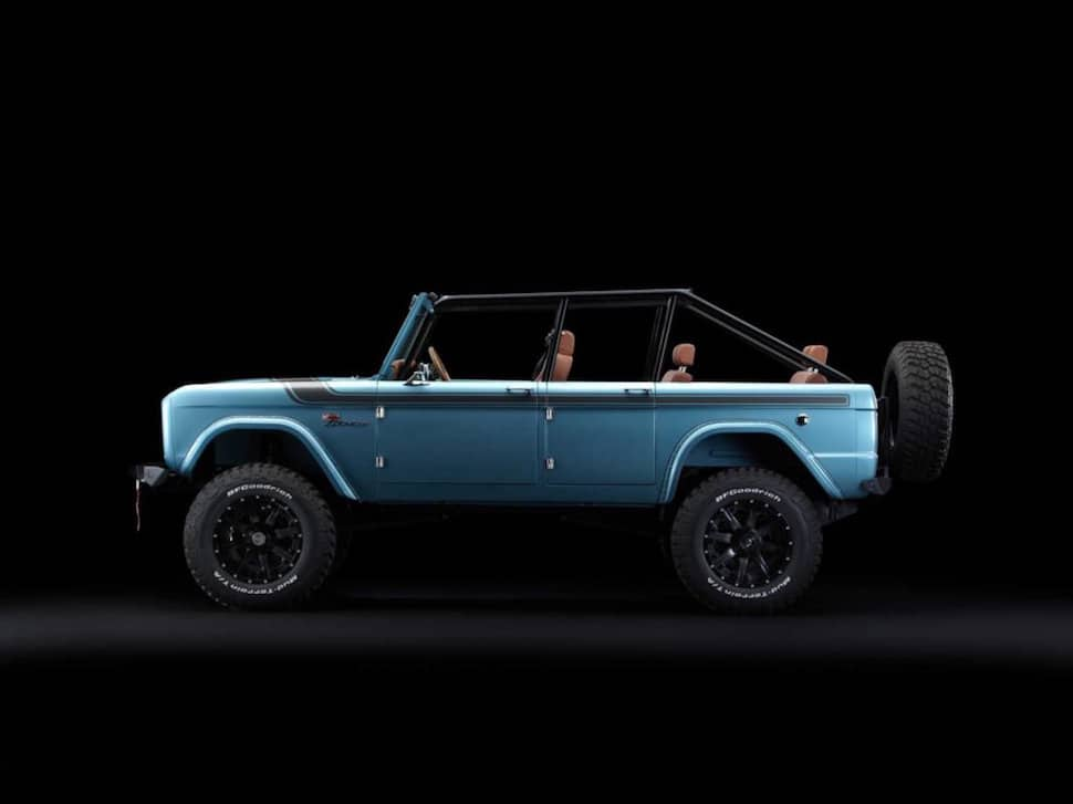670-hp 4-Door Bronco Restored to Perfection2