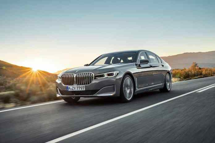 2020 BMW 7 Series front rolling