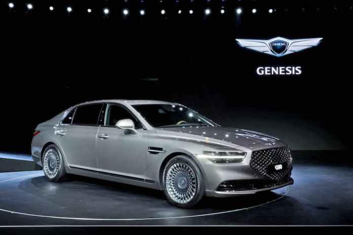 2020 Genesis G90 release date