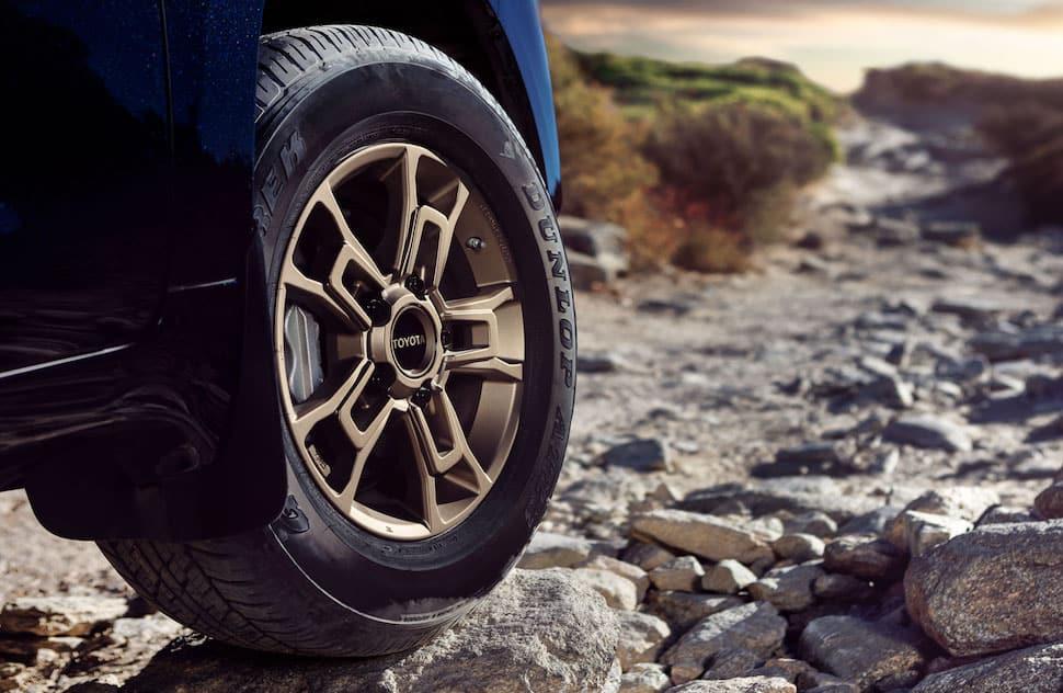 2020 Land Cruiser Heritage Edition wheel