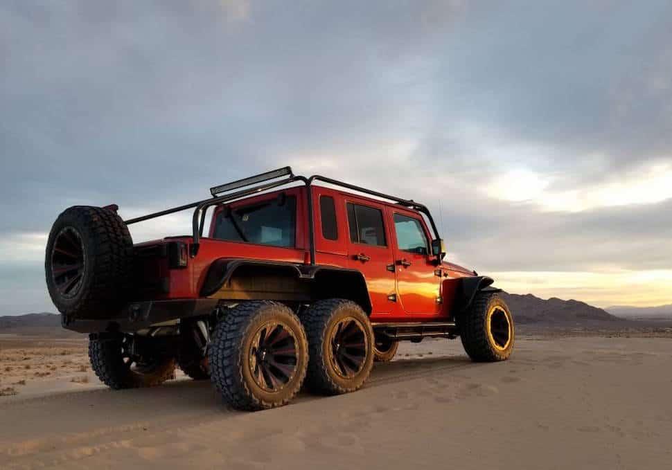 Hellcat powered 6×6 Jeep Wrangler Rubicon 3