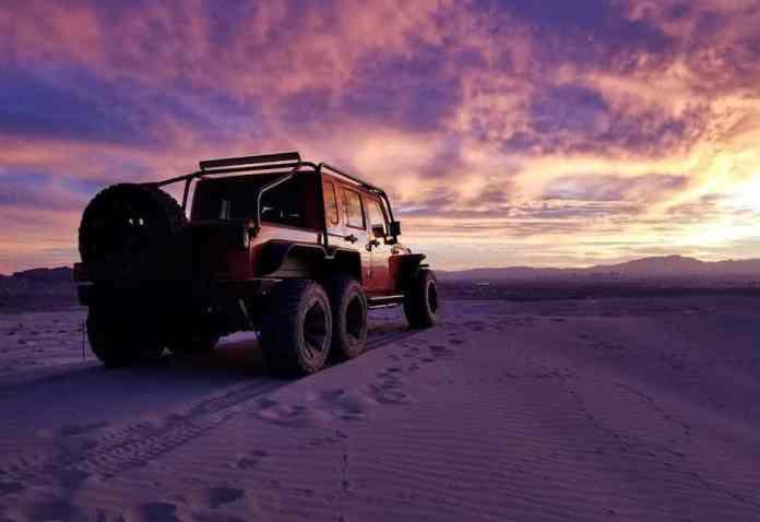 Hellcat powered 6x6 Jeep Wrangler Rubicon 5