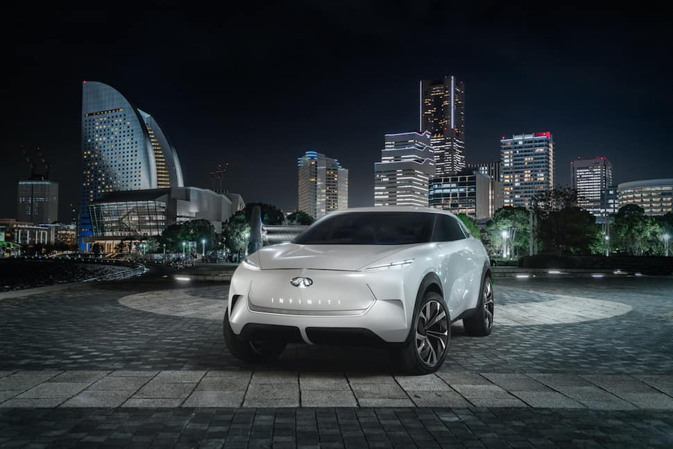 Sneak Peak Infiniti Qx Inspiration Concept Electric Suv
