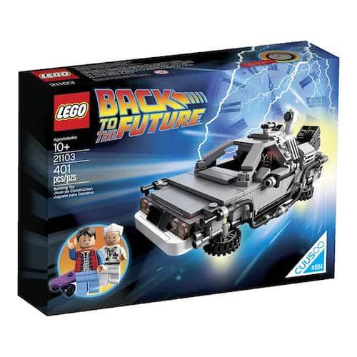 LEGO DeLorean Time Machine box
