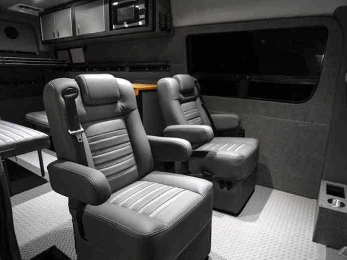 Lexani EXTV Kalahari 4x4 Sprinter Camper seats