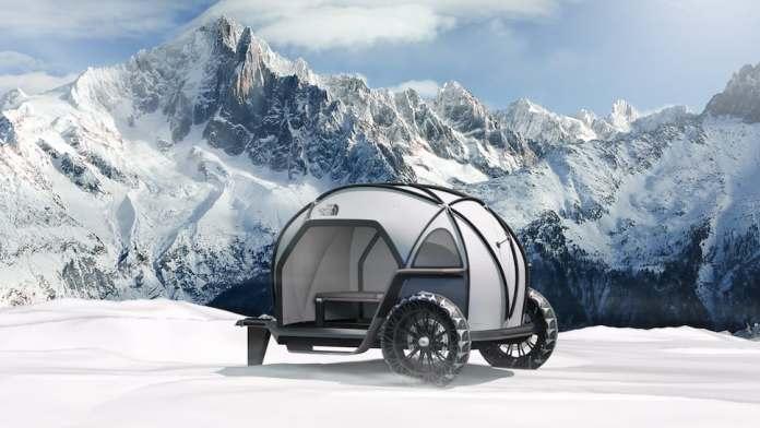 The North Face FUTURELIGHT Camper concept