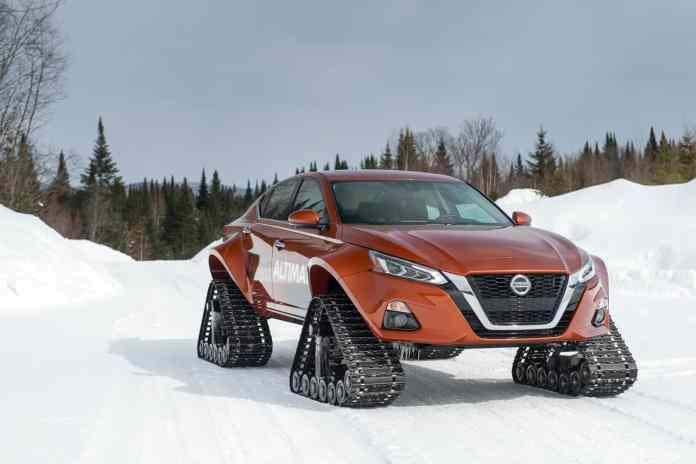 2019 Nissan Altima-te AWD Snow Sedan