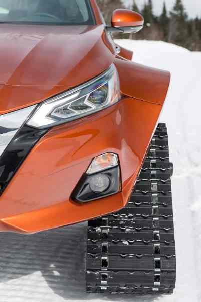 2019 nissan altimate awd snow sedan