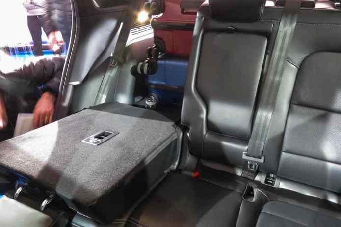 2020 ford escape 2nd row space and cargo