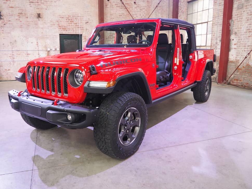 2020 jeep gladiator new truck rubicon clean in studio