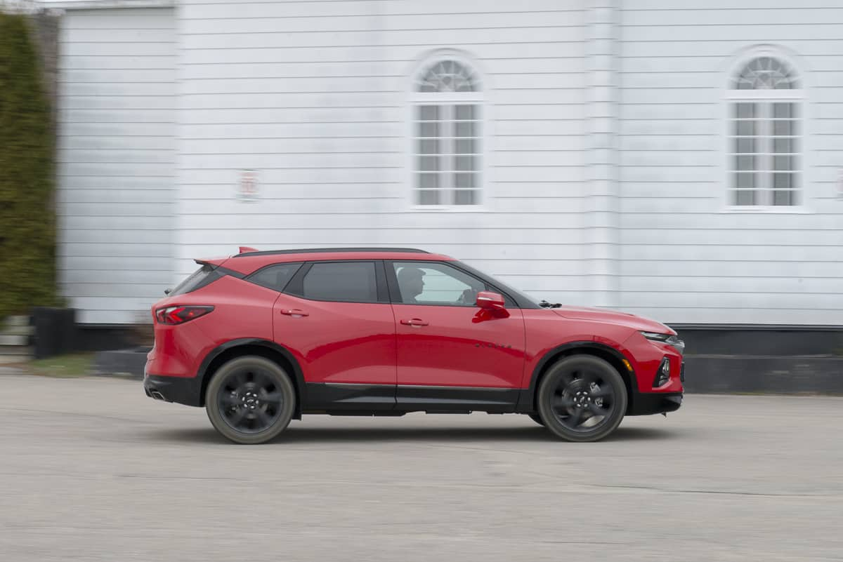 hight resolution of 2020 chevy blazer rs rolling in red amee reehal