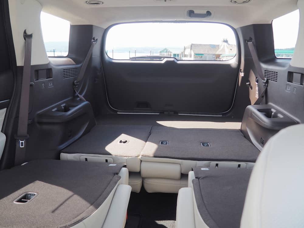 2020 hyundai palisade seating and cargo