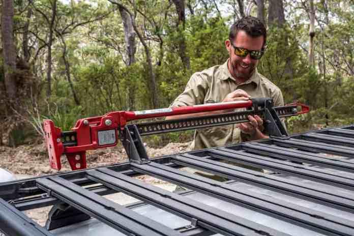 Yakima LockNLoad roof rack jack holder