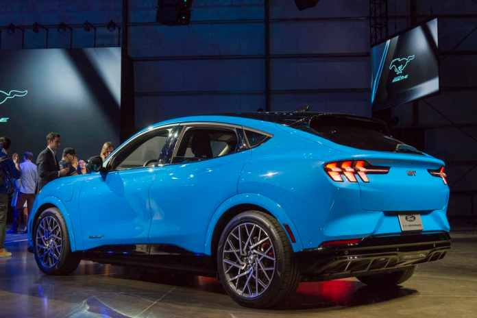 2020 Ford Mustang Mach E Trims