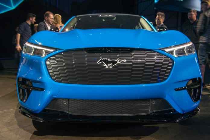 2021 Ford Mustang Mach-E horsepower