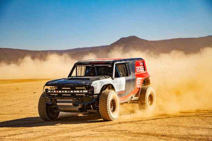 Bronco R hints at production model arriving early 2020