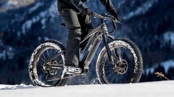 Jeep e-Bike Powered by QuietKat