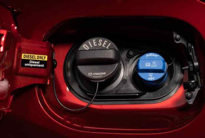 2019 Mazda CX-5 Diesel SUV Review fuel cap