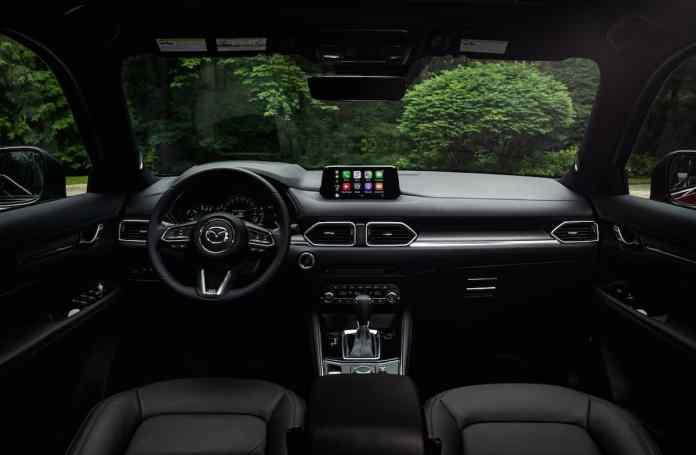 2019 Mazda CX-5 Diesel SUV Review interior front cabin