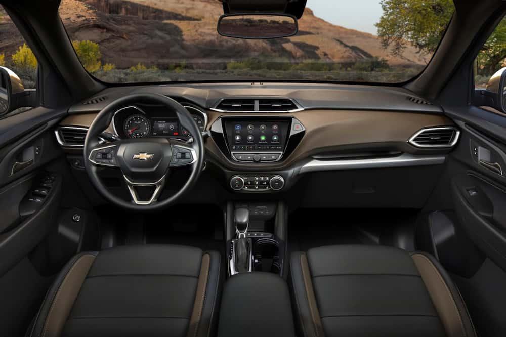 2021 Chevrolet Trailblazer ACTIV interior