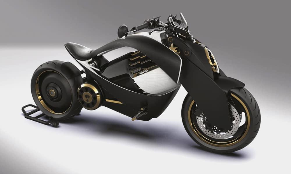 EV-1 Electric Cruiser Motorcycle by Newron Motors 4