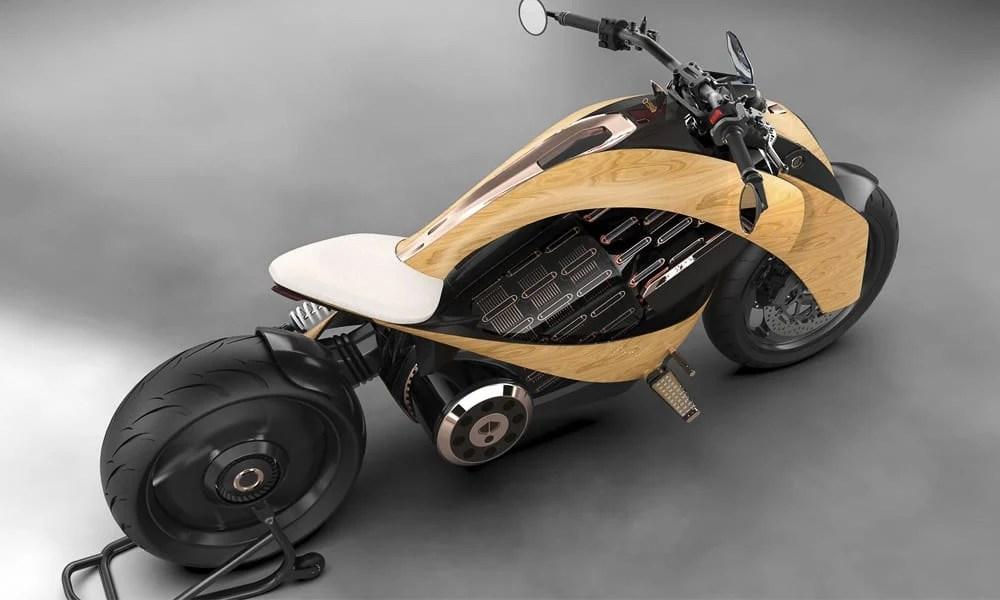 EV-1 Electric Cruiser Motorcycle by Newron Motors 5