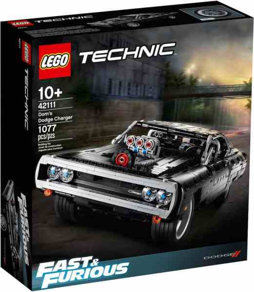 doms charge lego technic set box front