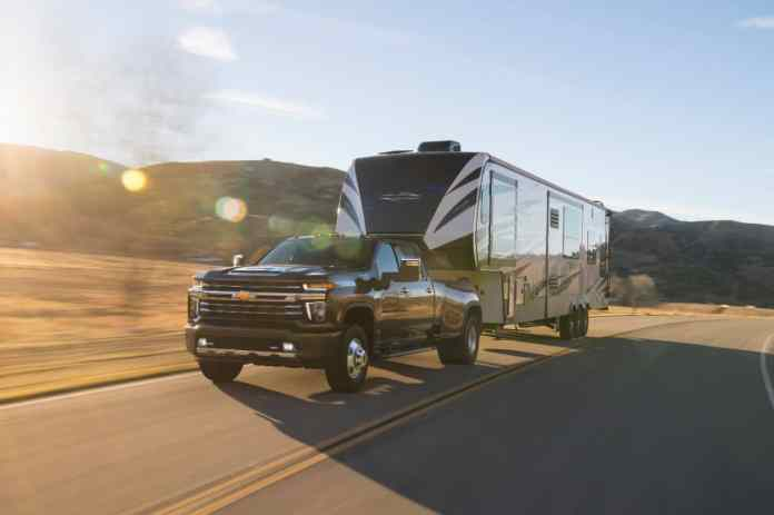 2020 Chevrolet Silverado 3500 HD towing capacity