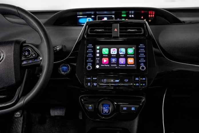 2020 Toyota Prius XLE AWD-e hatchback interior