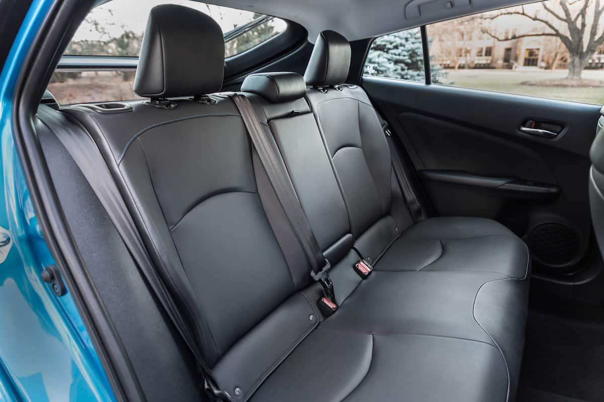 2020 Toyota Prius xle awd hatchback rear seats