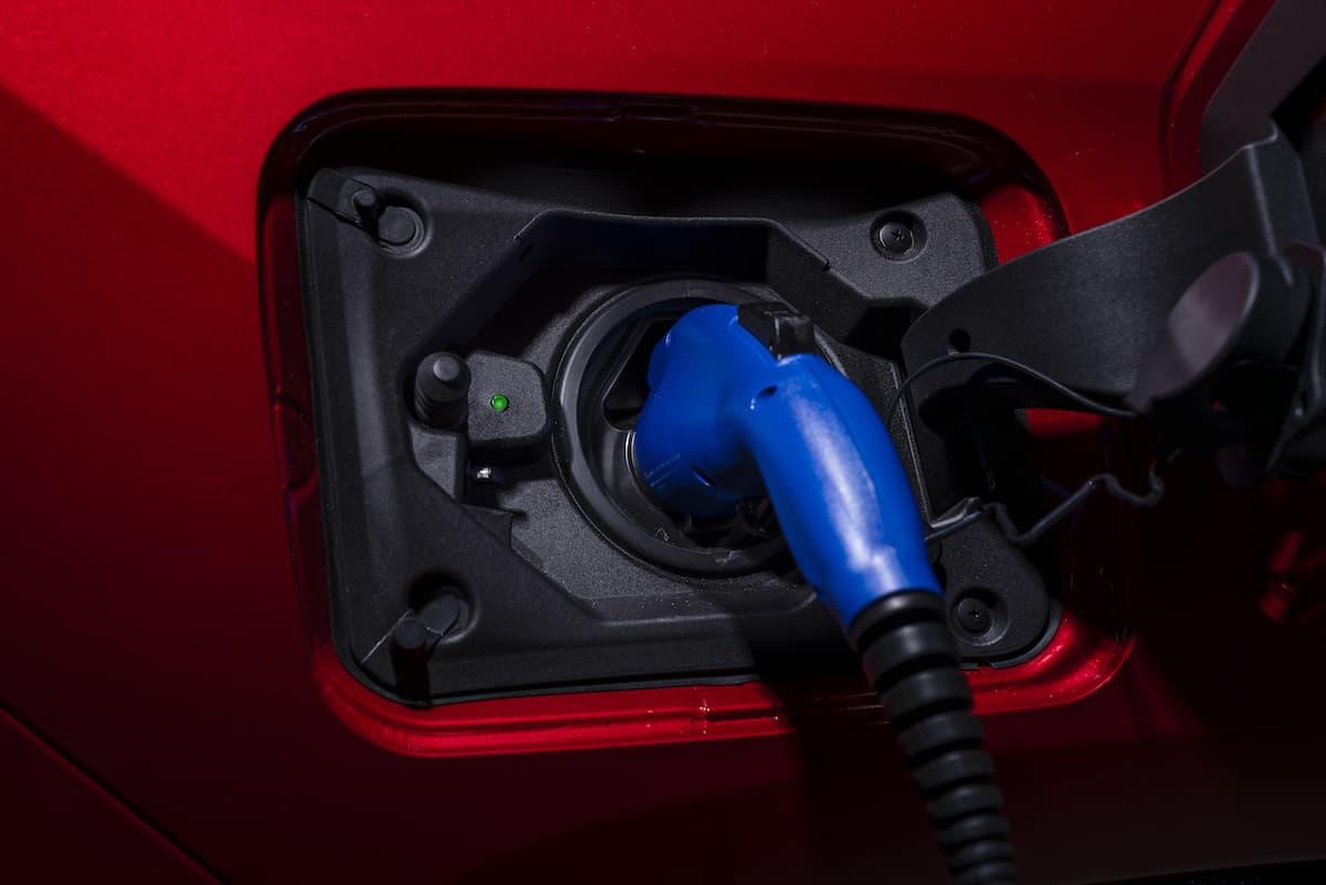 2021 Toyota RAV4 Prime charging port