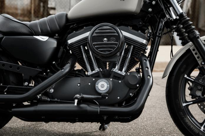 Harley-Davidson Iron 883 engine