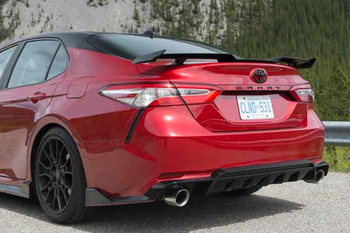 2020 toyota camry trd styling rear