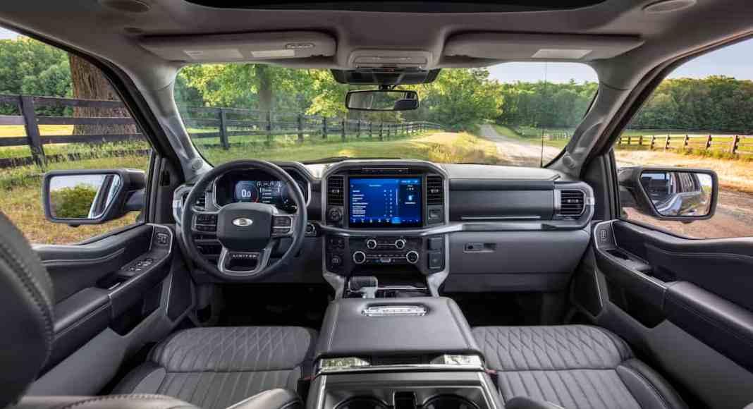 2021 Ford F-150 xl limited interior
