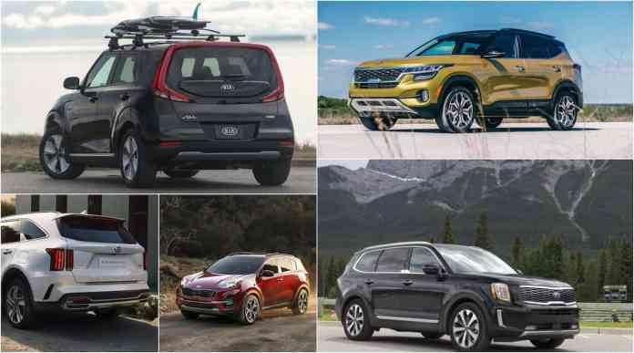Kia 2020 Suv Lineup Smallest To Biggest Here They Are